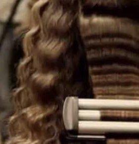 Локоны, причёски