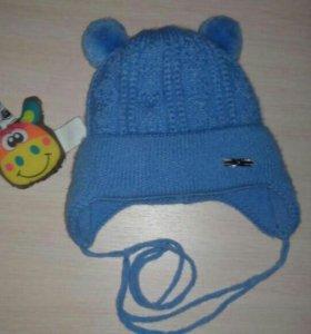 Зимняя шапка от 0 месяцев