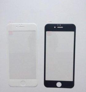 Защитные стекла на iPhone и другие аксессуары.