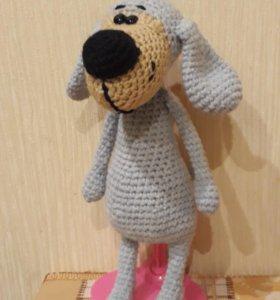 Вязания собачка