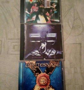 Whitesnake Три фирменных CD