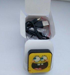 MP3-плеер новый с наушниками