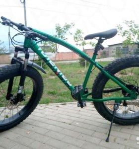 Фэтбайк fat-bike Велосипед с большими колесами