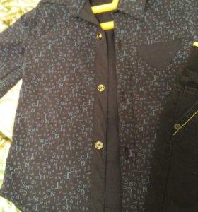 Рубашка, брюки + свитер в подарок