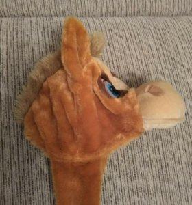 Шапка- лошадка 🐎