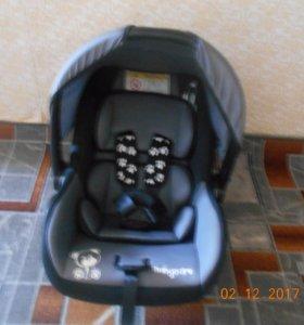 Автолюлька«Baby Care BC-321 Люкс Мишка»