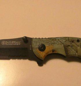 Нож складной туристический