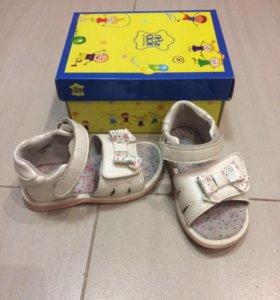 Сандалии детские туфли