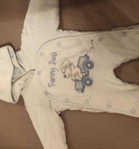 Одежда для новорождённых слип