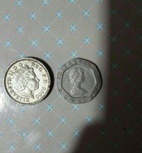 Монеты Елизавета 2.