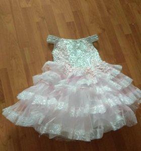 платье с карсетом детское