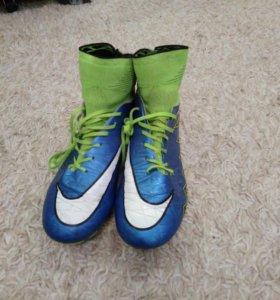Бутсы футбольные Nike hypervenom 39 размер