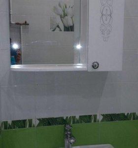 Мебель в ванную комнату новый