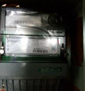 Счетчик электроэнергии 3-х фазный