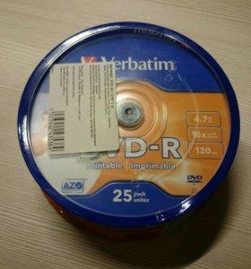 Диски DVD-R