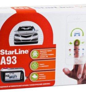 StarLine A93 ECO (Автозапуск)