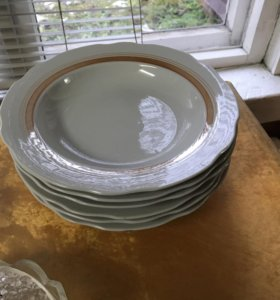 Тарелки глиняные