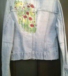 Женская джинсовая куртка.Италия.р-р 42-44. S-L