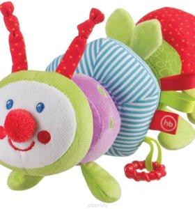 Развивающая игрушка Happy Baby «IQ-Caterpillar»