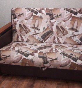 Диван кресло кровать аккордеон выкатной новый