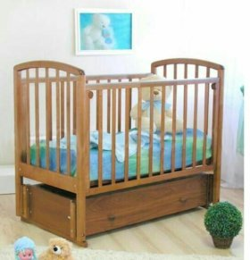Кроватка Можга с матрасом