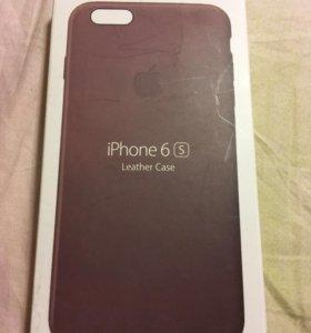 Чехол iPhone 6/6S Leather Case