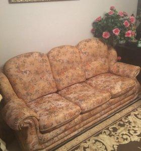 СРОЧНО Комплект мягкой мебели 3:2:1.