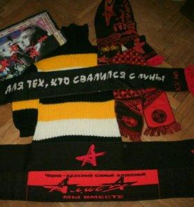 Футболка свитер алиса кинчев шарф редкие много раз