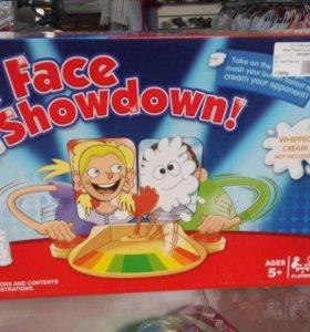 Игра « Пирог в лицо 2 человека»