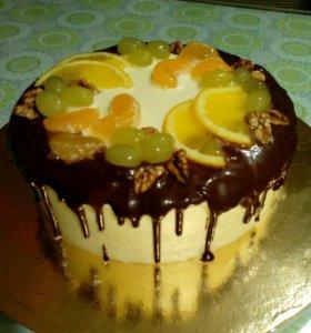 Бисквитные тортики