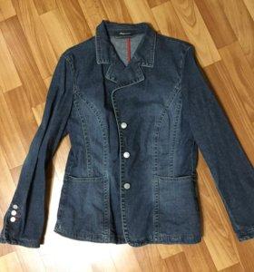 Джинсовый пиджак s.Oliver