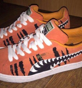 Puma suede chemical comic новые