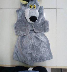 Новогодний костюм волка новый