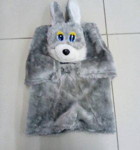 Новогодний костюм зайца новый
