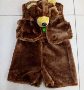 Новогодний костюм медведя новый