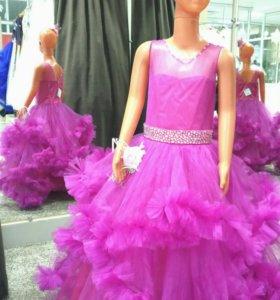 Новое платье в прокат девочка 5-8 лет