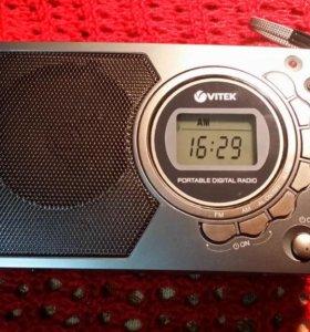 Радиоприёмник VITEK VT-3583 GY новый гарантия