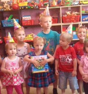 Домашний детский сад-ДОМИК В ДЕРЕВНЕ.