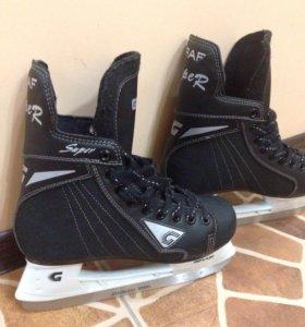 Коньки ледовые, хоккейные