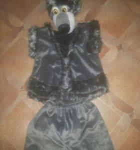 Новогодний костюм волка в отличном состоянии