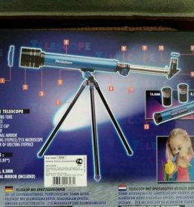 Астрономический телескоп+микроскоп