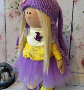 Интерьерная куколка Сирень