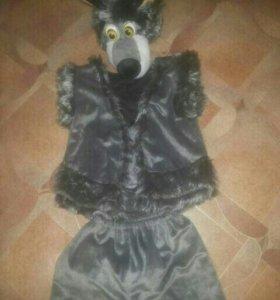 Новогодние костюмы (волк, лев)