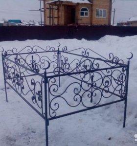 Ограда ритуальная (Разборная)