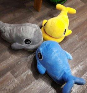 Тапки дельфины