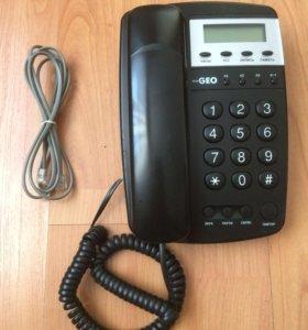 Телефон стационарный TeleGeo