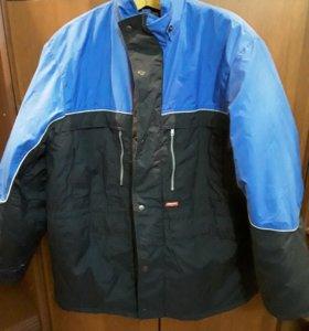 Куртка строительная с капюшоном(теплая)