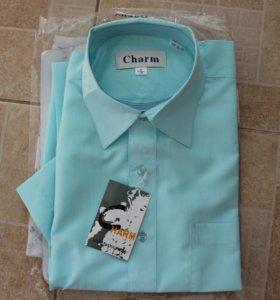 Рубашка с коротким рукавом 41/176. Новая, в упаков