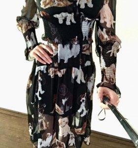 Платье новое / размер М (42-44)
