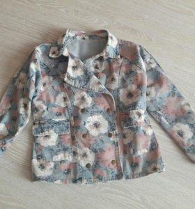 Джинсовый пиджак и рубашки